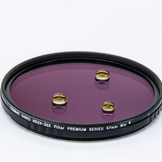 China No Darker 75° Variable Nd Filter 77mm supplier
