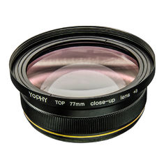 HD 3 Close Up Macro Lens , Dslr Macro Lens Double Sided Multi Layer Coating