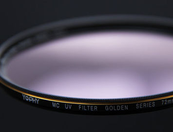 China DSLR Camera Lens UV Filter HD Optical Glass With Aviation Aluminum Alloy Frame supplier