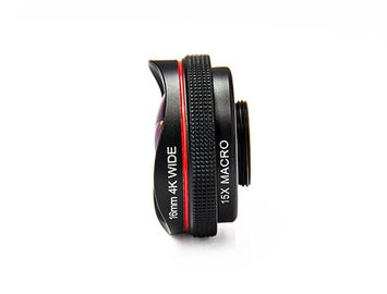 16mm 4K DSLR Camera Lens , Wide Angle Dslr Zoom Lens For Wide Range Scenery