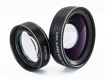 0.45X Wide Angle DSLR Camera Lens , Phone Photography Camera Telephoto Lens