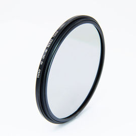 China 6.0mm Black Camera Filter , 37mm To 95mm 3 Stop Neutral Density Filter supplier
