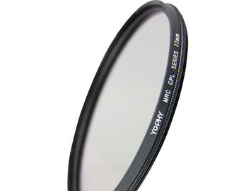 CPL Polarizer Filter  Schott B270 MRC16 Nano Coating 77mm  with Aluminum Alloy Frame