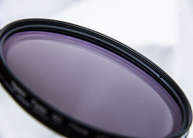 China Variable ND Filter Black Color With Adjustable Size 75 Degrees ND2X-ND32X 67mm supplier
