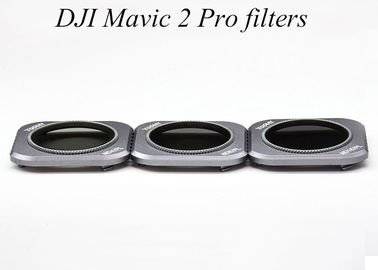 China ND ND / PL Drop-in Drone Camera Lens Filters Compatible With DJI Mavic 2 Pro supplier