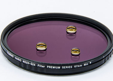 China Ultra Slim Camera Lens 75 Degree Rotation Variable Nd Filter For Landscape Photography ND2 - ND32 supplier