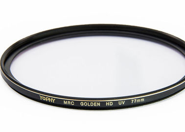 China Super Durable Copper Frame 77mm UV Filter For Digital Photography Without Dark Corner supplier