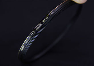 China 77mm HD Optical Glass Camera Lens Screw In UV Filter With Substantial Brass Frame supplier