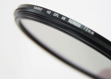 72 mm CPL Circular Polarizing Camera Lens Filter with Ultra Slim Charming Black Frame
