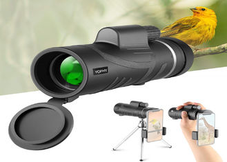 HD Cell Phone Camera Lens 12X50 MONOCULAR TELESCOPE WITH SMARTPHONE HOLDER And Tripod