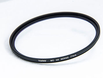 China Digital Camera Lens UV Filter Black Alloy Optical Glass For Photography factory